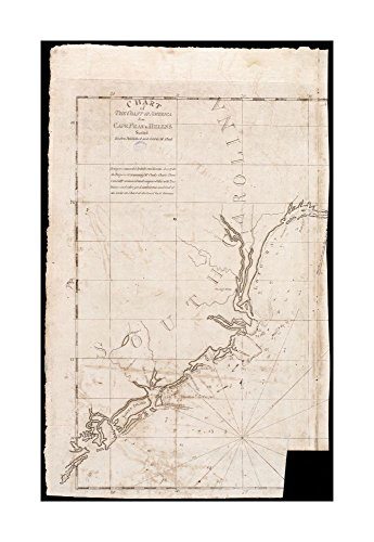 1790 Map South Carolina Chart of coast of America from Cape Fear to Helens Sound Depths shown by soundings.Includes note judging chart accurate, signed by Osgood Carleton.In upper right: - Costume Diy Hepburn Audrey