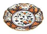 Old Imari Rinha 13.4inch Medium Plate Porcelain