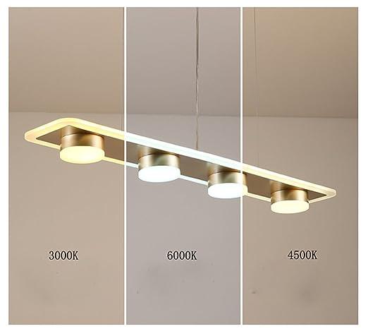 45 W Lámpara colgante LED comedor Altura Regulable Lámpara ...
