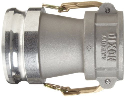 Dixon 4030-DA-AL Aluminum Cam and Groove Reducing Hose Fitting, 4'' Socket x 3'' Plug by Dixon Valve & Coupling (Image #2)