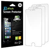 iPhone 6 Screen Protector, JETech 3-Pack Screen Protector Film Retail Packaging for Apple iPhone 6 4.7 Inch (HD Clear) - 0801