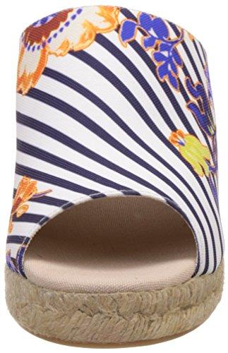 Desigual 61SS2G Zapatos De Cuña Mujer Piel De imitación Blanco 40