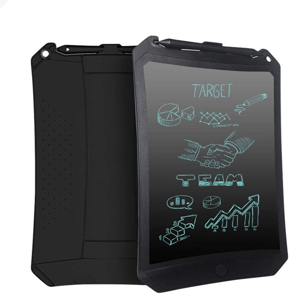School Light Energy Small Blackboard//LCD Writing Board//Electronic Painting Graffiti Board//Suitable for Home Black, White - 8.5 Inch Office