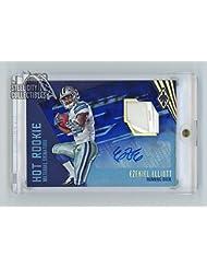 Ezekiel Elliott 2016 Panini Phoenix Hot Rookie Material Autograph Vapor Jet 1/1 - Panini Certified - NFL Autographed Football Cards