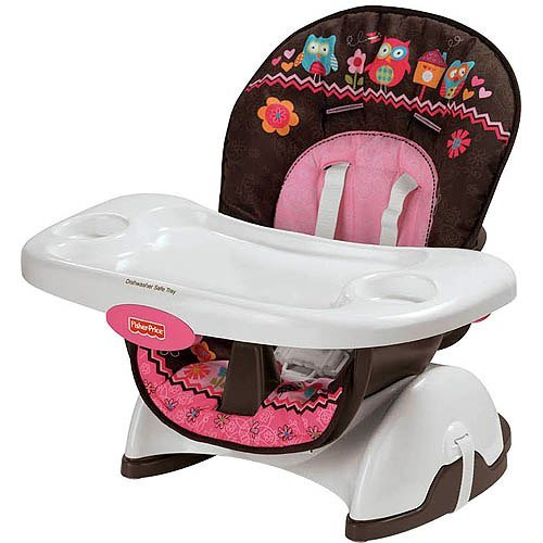 Fisher-Price Pink Owl SpaceSaver High Chair