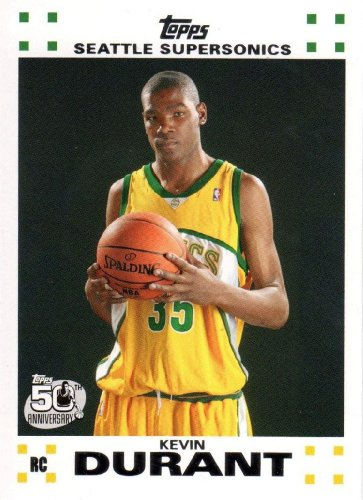 Topps Durant Seattle Sonics Basketball product image