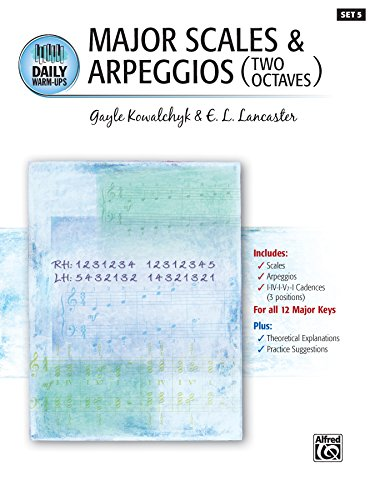(Daily Warm-Ups, Set 5, Major Scales & Arpeggios (Two Octaves): Piano Method for)