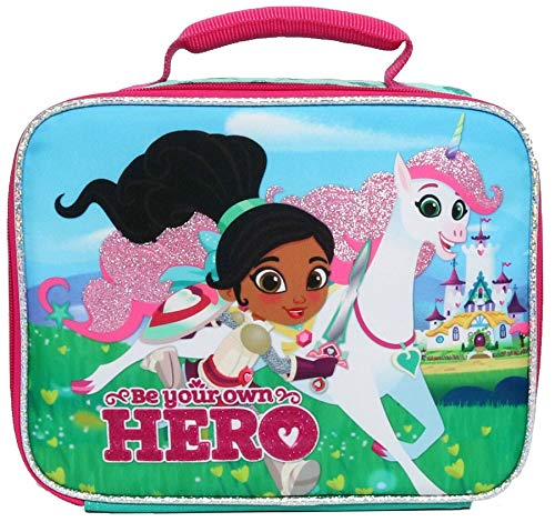 Nickelodeon Nella the Princess Knight Royal Hero Lunch Tote - Turquoise -