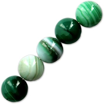 Green Lace Agate 12mm X1 Amazon Co Uk Toys Games