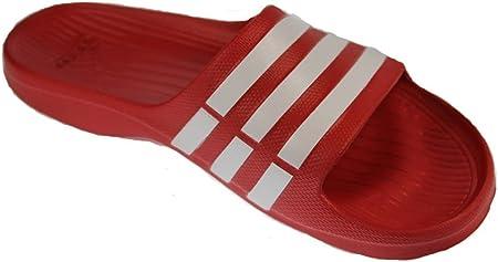 Búho Correspondiente a Proponer  adidas Duramo Slide Men Red Flip Flop/Sandals G15886: Amazon.co.uk: Sports  & Outdoors