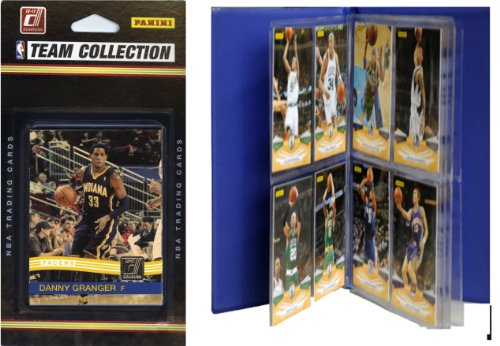 NBA Indiana Pacers Licensed 2010-11 Donruss Team Set Plus Storage Album by C&I Collectables