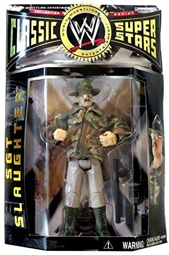 Classic Superstars Wwe Jakks Figure - Jakks Pacific WWE Wrestling Classic Superstars Series 2 Sgt Slaughter Action Figure
