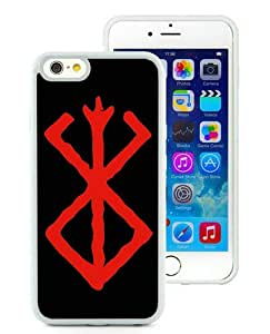 Hot Sale iPhone 6S Case,Berserk White iPone 6/6S 4.7 inches Screen TPU Cover Case Fashion and Popular Design