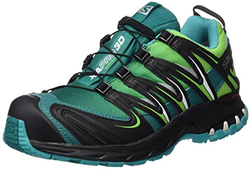 Zapatillas L39071300 Mujer Salomon Tonic Green Blu de Running Teal Verde Trail para Veridian Green w5YqA1qd