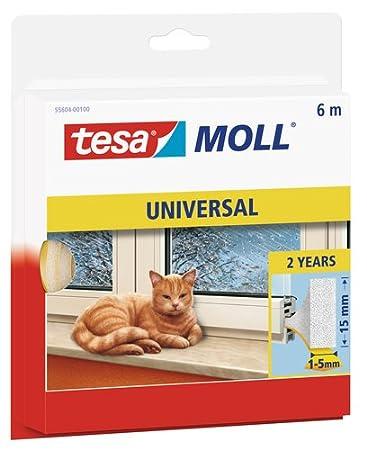 Joint en mousse universel Tesamoll© 55604-100 blanc 55604-00100-00