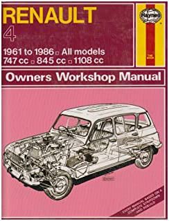 Renault 4 1961-86 Owners Workshop Manual (Classic Reprints: Owners Workshop ...