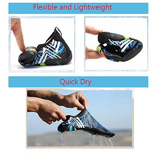 Plongée D'eau Respirants Et Nager Chaussures Unisexe Plage Séchage Hommes Tous Semelles Pour Rapide Sports Les Femmes Blanc dwOpqE
