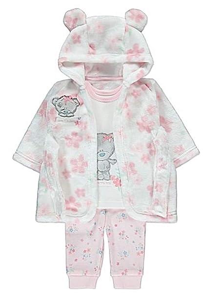 ea696753c Baby Girls Tatty Teddy Dressing Gown and Pyjamas  Amazon.co.uk  Clothing