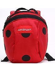 Hi 9 Shop Cute Cartoon Unisex Baby 1~3 Years Backpack Shoulder Bag Anti-lost Baby (Red)