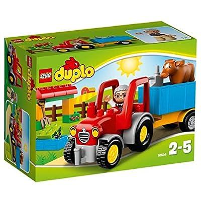 LEGO DUPLO Farm Tractor (10524): Toys & Games