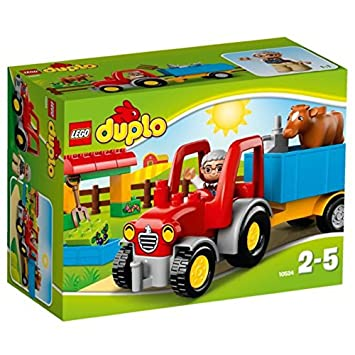Lego 10524 Duplo Ville Farm Tractor Playset Amazoncouk Toys Games