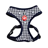 Puppia Authentic Aggie Harness A, Medium, Navy
