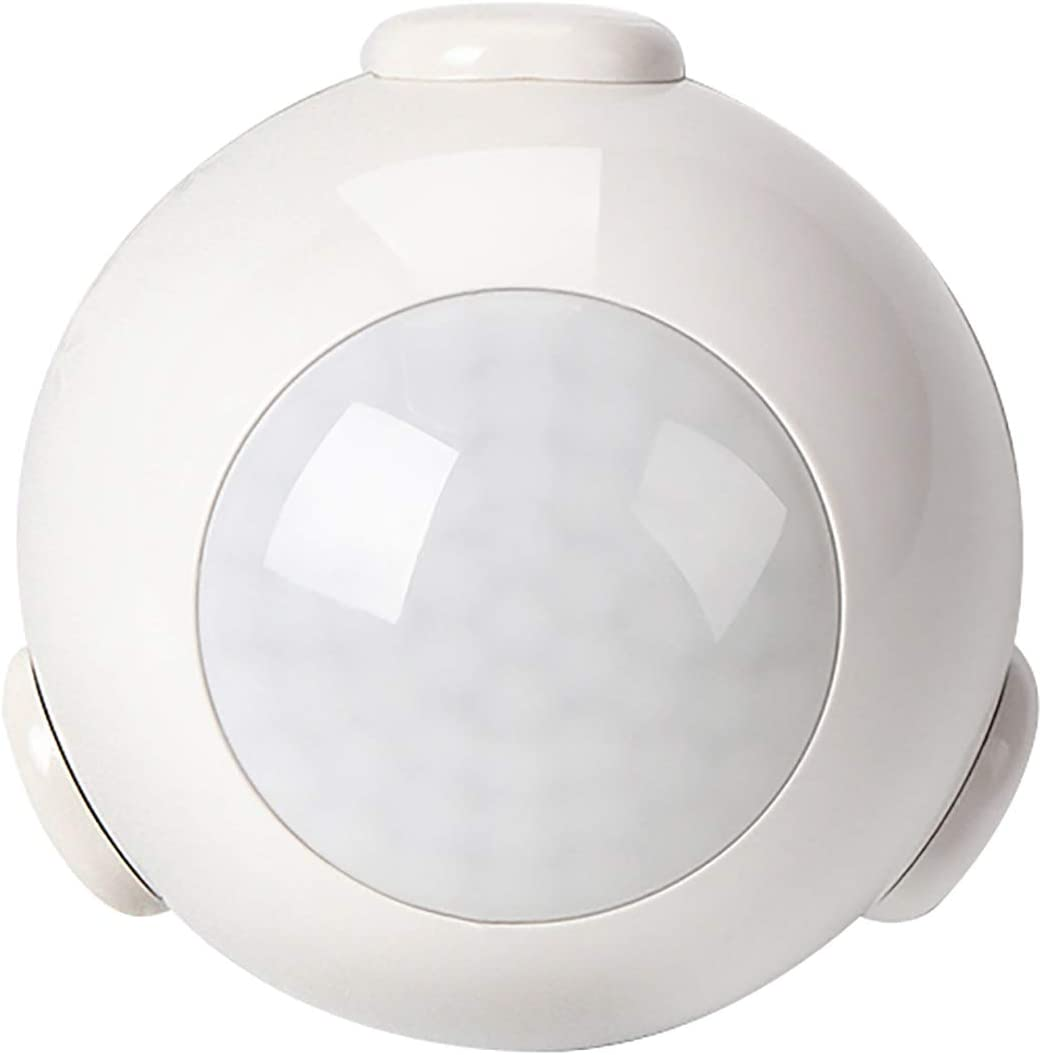 BAZZ MTSWFW1 Smart Home Wi-Fi Motion Sensor, Battery Included, No Hub Required