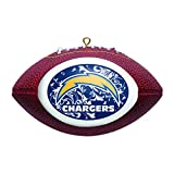 NFL San Diego Chargers Replica Football Ornament
