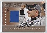 Mark Martin #1/6 (Trading Card) 2009 Sportkings Series C - Autograph - Memorabilia - Silver 2015 Sport Kings Vault [Autographed] #AM-MMA2