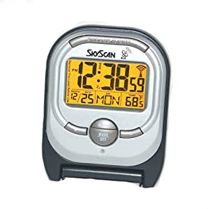 Equity by La Crosse SkyScan 31420 Travel Atomic Alarm Clock