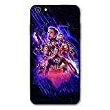 iPhone 6 Case iPhone 6s Case Endgame Comic Design Cover Cases for iPhone 6/6s (Avengers-2019)