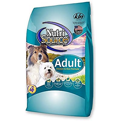 Tuffy'S Pet Food 131101 Nutrisource Chicken/Rice Dry Food For Dogs, 15-Pound