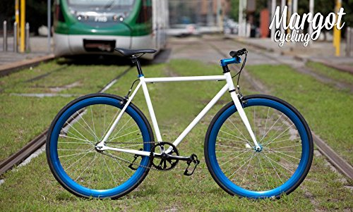 Aqua. Bici Fixie Fixed Bike Modelo