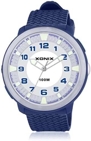 Fashion simple couple of luminous lighting waterproof quartz watches-H