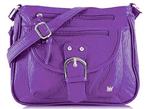 Purse King Pistol Concealed Carry Handbag (Purple) (Best Selling Concealed Carry Pistol)