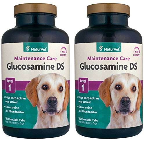 2PACK NaturVet Glucosamine DS with Chondroitin Time Release (300 Tabs)