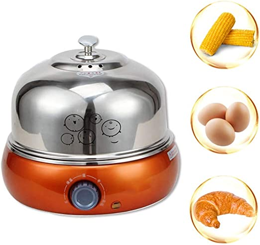 Amazon Com 9 Eggs Easy Electric Egg Poacher Omelet Scrambled Soft Medium Hard Boiled Boiler Cooker With Big Capacity For Soft Medium Kitchen Dining