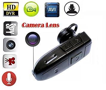 eptek   8 Go mini-caméra espion portable caméra cachée Casque Bluetooth  écouteurs Bluetooth casque ffabcc19036e