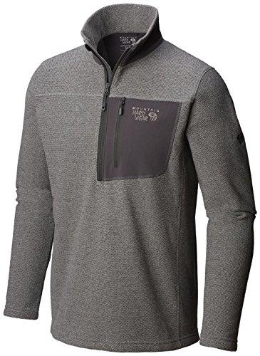 - Mountain Hardwear Toasty Twill 1/2 Zip Jacket - Men's Manta Grey Small