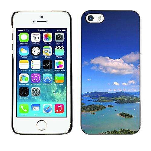 Premio Sottile Slim Cassa Custodia Case Cover Shell // F00004126 îles // Apple iPhone 5 5S 5G