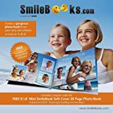 SmileBooks Software CD with Coupon Code for 8x8 Mini Soft Cover 26 Page Photo Book (valued at $26.95 - shipping & handling not included)