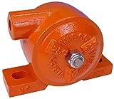 VIBCO VS-250  Silent Pneumatic Turbine Vibrator, 500 lb. Force, 7200 VPM, 10.5 CFM, 80 psi, 4'' Bolt Pattern