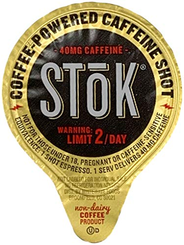 60 Shots of STOK Black Coffee Concentrate Additive Caffeine Energy ()