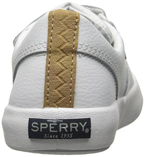 Sperry Wahoo Jr Baby Jungen Unisex-Kinder White Leather