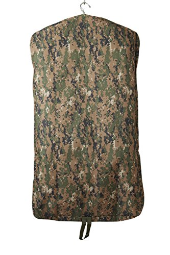 Camouflage Garment Bag, Military Grade Camo Suit Holder Bag, USMC Marine Corps