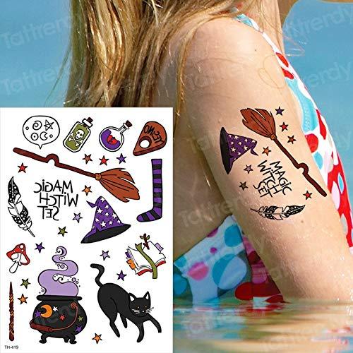tzxdbh Tatuaje Temporal para niños Harry Tatuajes temporales Cara ...