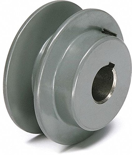 Tb Wood's V-Belt Pulley, 5/8'Fixed, 2.25'OD, CastIron AK2258 - 1 Each 5/8Fixed 2.25OD Tb Wood' s Incorporated