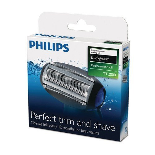 Philips Tt2000/43 Replacement Spare Foil Shaving Head for Bodygroom Shaver Range Good Quality From United Kingdom Fast Shipping Ship Worldwide by Philips