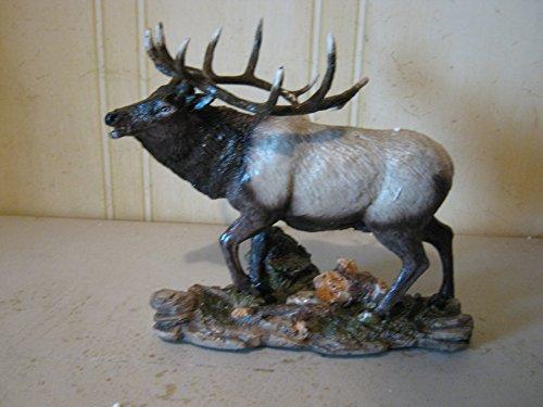 Elk Statue (Full Elk Resin Figurine Wildlife Statue 876)