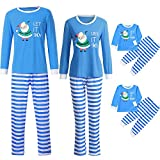 Family Christmas Pajamas Xmas Pajamas Sets Outfit Letter Print Matching Family PJS Kids Boys Girls Homewear Nightwear
